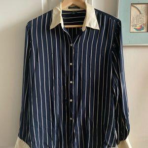 Vintage 100% Silk Lauren by Ralph Lauren Shirt